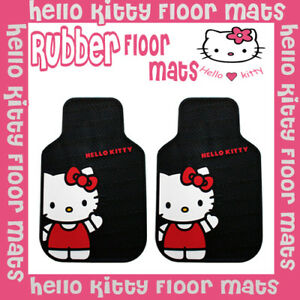 2014 Plasticolor Brand Hello Kitty Car Floor Mats 2pc