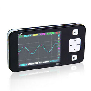 Portable Dso211 Digital Storage Oscilloscope Mini Nano Arm Pocket 200khz 1msa s