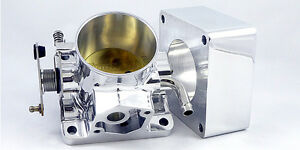 Accufab 70mm Mustang 5 0l Polished Throttle Body Blank Spacer Kit 5 0 302 Lx
