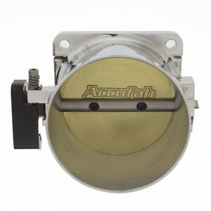 Accufab New Style 90mm Mustang 5 0l Polished Throttle Body Blank Spacer Kit