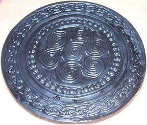 Concrete Cement Celtic Circle 16 Stamp Texture Mat Form Inlay Border Art New