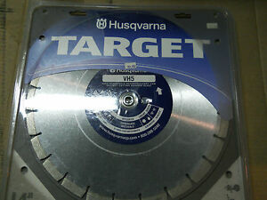 Husqvarna Vh5 542774463 14 Wet dry Diamond Cutting Blade 1 1 2hp Thru 20hp