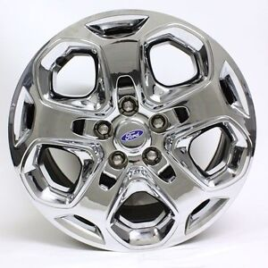 17 Ford Fusion Mercury Milan 2010 2011 2012 Steel Wheel Oem 3796 Chrome Cover