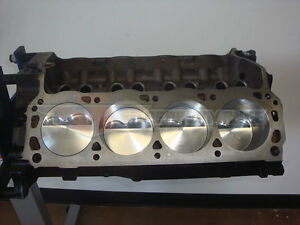 Ford 306 Stroker Short Block Sbf 302 Dome Top Probe Pistons 11 3 1 Cr Small Tre