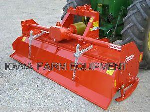 Rotary Tiller Maschio C250 103 Tractor 3 pt Pto 130hp Gearbox