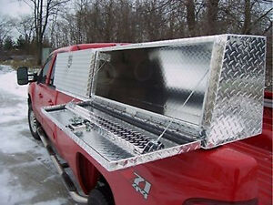 Truck Tool Box 96 Topsider Slant Front High Side Top Mount Toolbox Topside