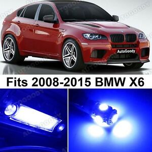 21 X Premium Blue Led Lights Interior Package Upgrade For Bmw X6