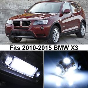 20 X Premium Xenon White Led Lights Interior Package Upgrade For Bmw X3