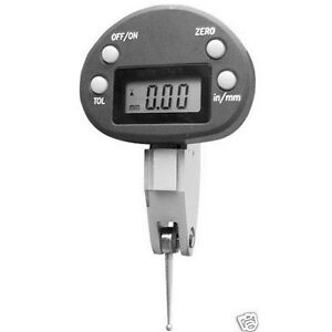 Oval Dial 0 0 02 Inch Electronic Test Indicator All New