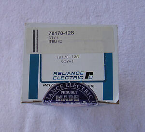 Nib Reliance Electric Diode Assembly W heat Sink 78178 12s