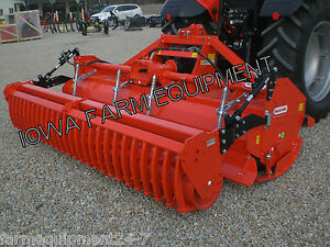 Rotary Tiller With Cultipacker Roller H duty Maschio Sc300 123 170hp Gearbox