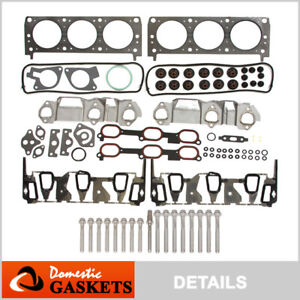 Fits 96 05 Buick Chevrolet Oldsmobile Pontiac 3 1 3 4 Hp Head Gasket Set Bolts