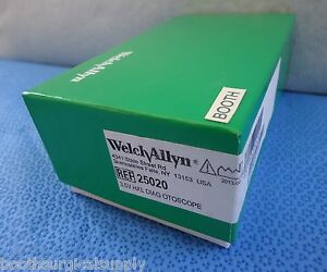 Welch Allyn 3 5v Standard Otoscope 25020 25020a New