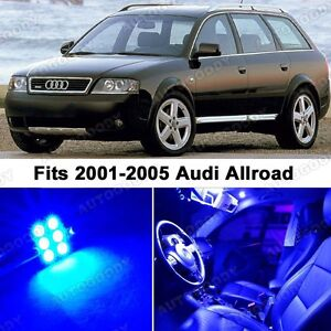 23 X Premium Blue Led Lights Interior Package Upgrade For Audi Allroad