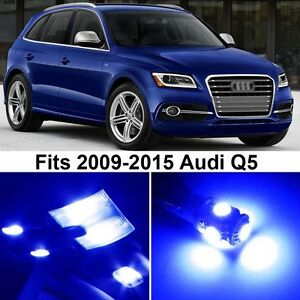 20 X Premium Blue Led Lights Interior Package Upgrade For Audi Q5