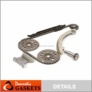 00 11 Chevrolet Saturn Pontiac 2 2 Ecotec Timing Chain Kit Z22se L61 L42 Lsj Lnf
