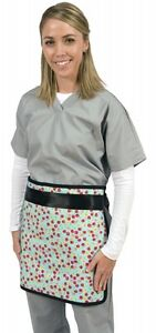 New x ray Protection half Apron color Blue model 20715 24 x24