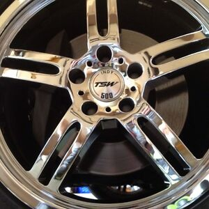 Tsw Indy 500 Chrome 18 Inch Rims 5x120