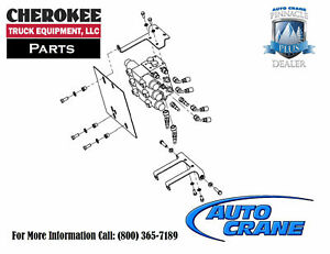 Auto Crane 320840100 Hydraulic Control Valve Retrofit Kit For 3203pr Prx