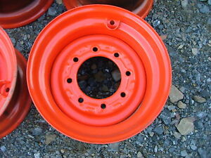New Rim For Skid Steer Tractor Equipment Fits 10 16 5 Tires 16 5x8 25 Wheel