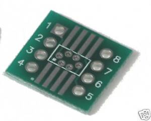 Soic Adapter Boards So 8 Smt To 8 pin Dip set Of 10