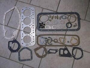 Farmall Ihc Super A Av Super C 100 130 140 200 340 Engine Gasket Set Aogs123