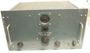 Hewlett Packard Hp Model 2028 Low Frequency Oscillator