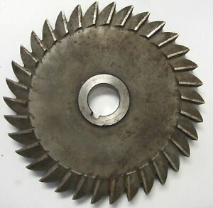 National 8 X 3 4 X 1 Plain Side Slitting Mill Milling Cutter