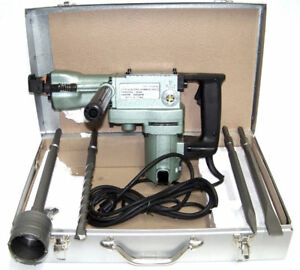 2 In 1 H d 1 1 2 Demolition Hammer Core Rotary Hammer Drill And Bits Power