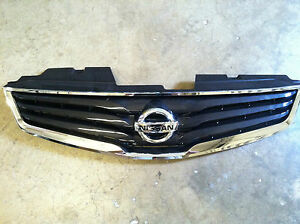 New Oem 2010 2012 Nissan Sentra Grille With Emblem Non Sport Package Only