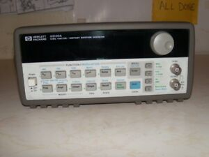 Hp Agilent 33120a Function arbit rary Generator good Working Calibrated