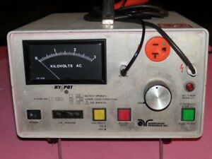 Associated Research Inc Hypot 3kv Ac good Working Calibrated