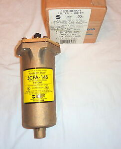 Sherwood Superior 3cfa 14s Refrigerant Filter Drier 3 Brass Shell 7 8 Ods