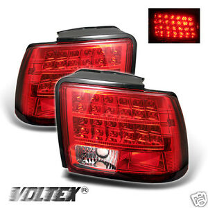 1999 2004 Ford Mustang Led Tail Light Bar Lamp Lightbar Red Clear