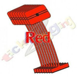 50 000 2 Red Regular Standard Barbs Tag Tagging Gun Fasteners High Quality