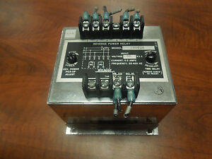 Wilmar Electronics Inc Reverse Power Relay 720tdx 120v Used