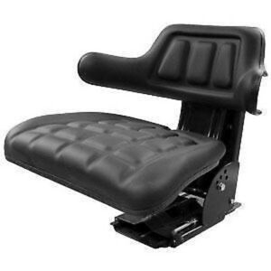 Replacement Tractor Flip Up Seat For John Deere With Slide Tracks Suspension