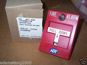 New 3403 S a 0743300 Fire Alarm Manual Pull Station