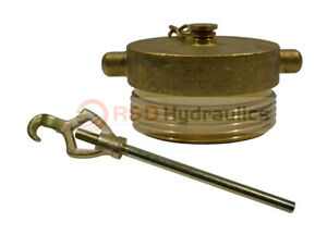 Fire Hydrant Adapter Combo Nst 1 1 2 Plug W hydrant Wrench