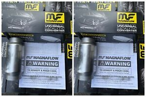 2x Magnaflow 54959 3 High Flow Performance Catalytic Converter Cat 2021 Batch