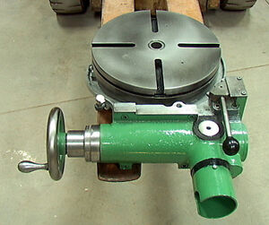 12 rotary Table With Forward Neutral Reverse Gearbox Power Drive Input handwhe