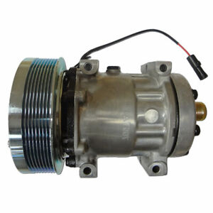 86993463 Air Conditioner Compressor Side Of Engine front R134a