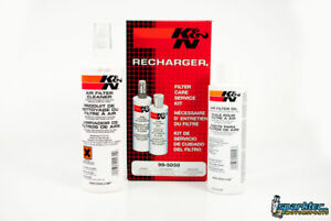 K n Recharger Air Intake Filter Cleaning Kit Cleaner Squeeze Oil 99 5050 New