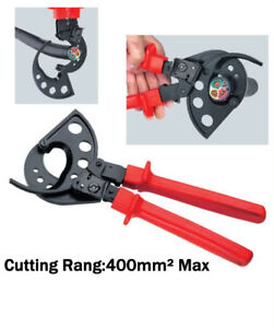 New Ratchet Cable Cutter Cut Up To 400mm2 Wire Cutter