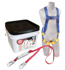 Protecta 2199802 Fall Protection Kit Includes Harness And Lanyard