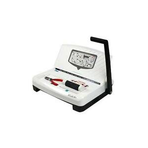 New Akiles Icoil 41 Plus Oval Hole Spiral Coil Binding Machine Free Shipping