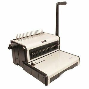 New Akiles Alphabind cm Manual Plastic Comb Binding Machine Free Shipping
