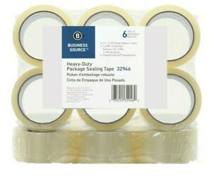 12 Rolls Carton And Box Packing Tape 1 6mil 2 X 110 Yard Clear
