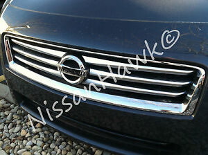 New Oem 2009 2014 Nissan Maxima Factory Brushed Accent Grille With Emblem