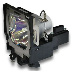 Sanyo 610 334 6267 6103346267 Lamp In Housing For Projector Model Plcxf47